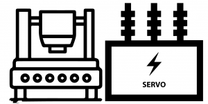 Electric Stamp/Transformer and Servo